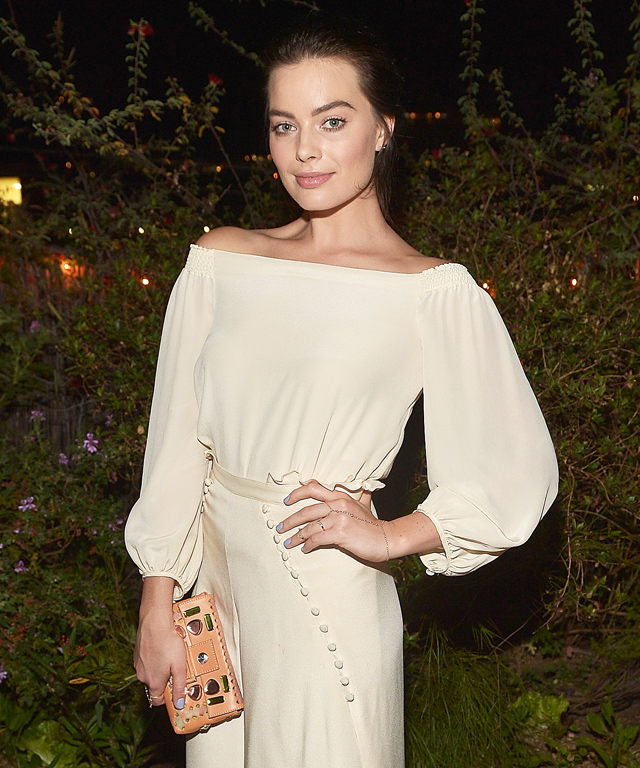 Margot Robbie at Carmella dinner