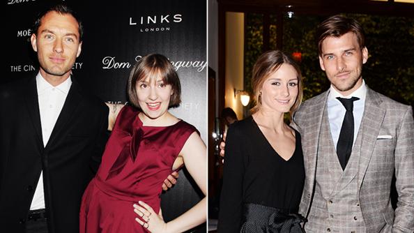 Dom Hemingway Premiere: Jude Law, Lena Dunham, Olivia Palermo, & Johannes Huebl