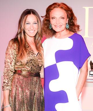 Sarah Jessica Parker and Diane von Furstenberg