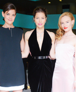 Katie Holmes, Jessica Biel, and Kate Bosworth