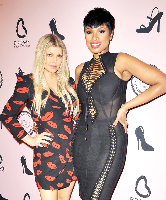 Fergie and Jennifer Hudson
