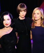 Dita Von Teese, Coco Rocha, Georgia May Jagger, and Jessie J at The Delete Blood Cancer Gala