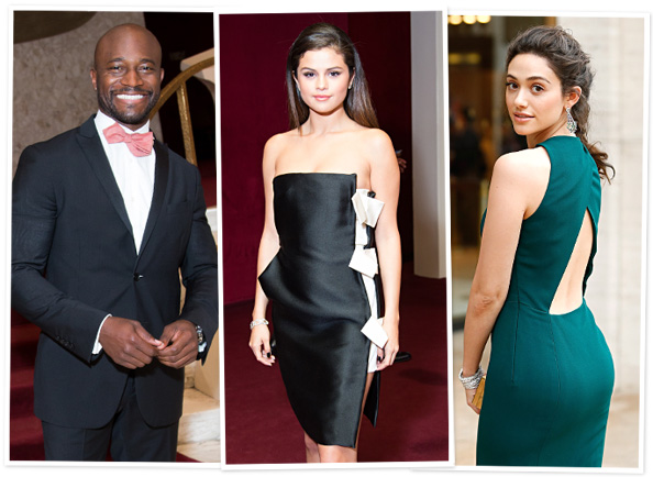 The American Ballet Theatre 2014 Opening Night Spring Gala: Taye Diggs, Selena Gomez, Emmy Rossum