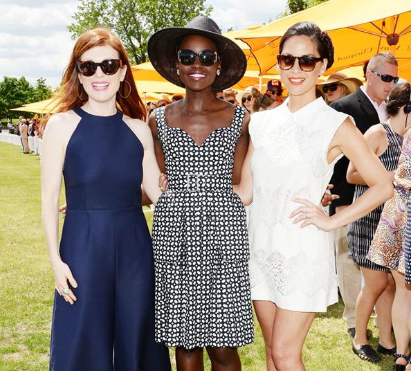 Veuve Clicquot Polo Classic: Julianne Moore, Lupita Nyong'o, Olivia Munn