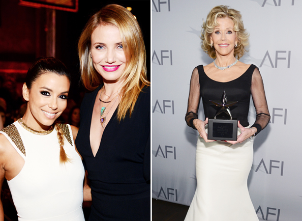 AFI Life Achievement Award Gala: Eva Longoria, Cameron Diaz, Jane Fonda