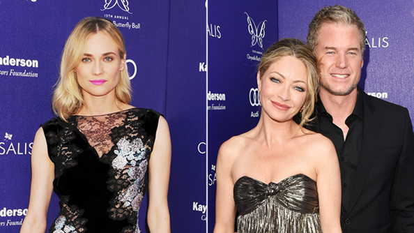 13th Annual Chrysalis Butterfly Ball: Diane Kruger, Rebecca Gayheart-Dane, Eric Dane