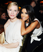 Women in Film 2014 Crystal + Lucy Awards: Cate Blanchett and Eva Longoria