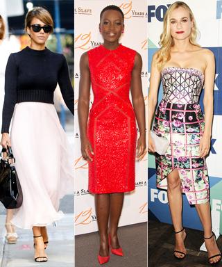 Lupita Nyong'o, Kate Middleton, Jessica Alba, Olivia Palermo, and Diane Kruger
