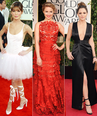 Riskiest Golden Globe Looks