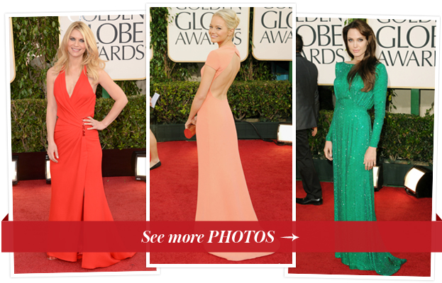 Golden Globe Gowns