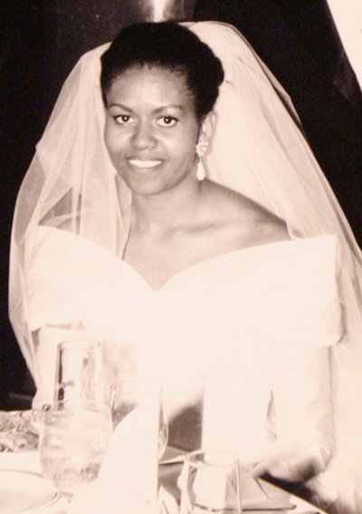 1992 wedding dress michelle obamas best looks ever