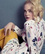 Elle Fanning for Miu Miu