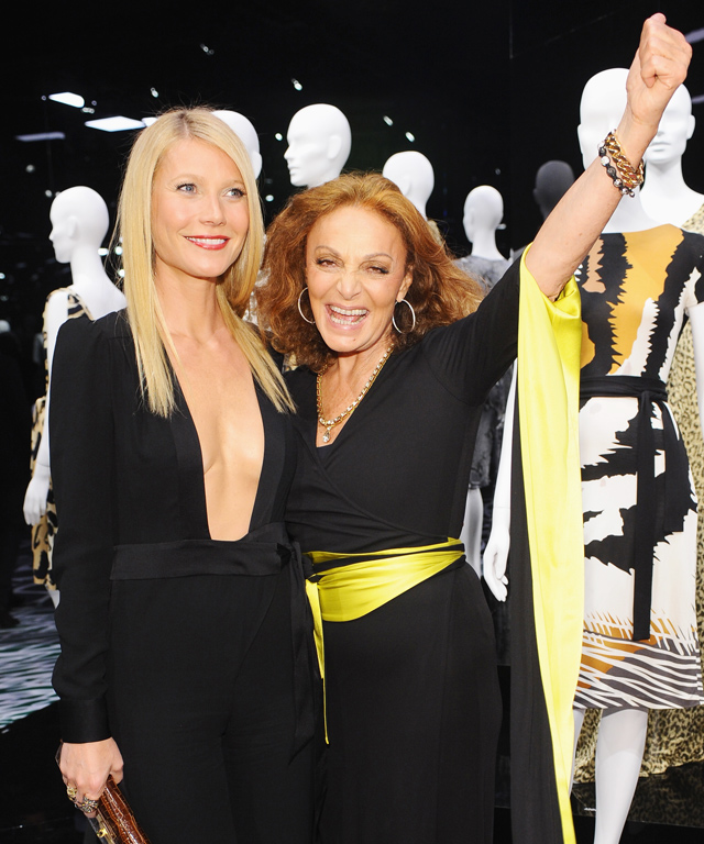 Diane von Furstenberg and Gwyneth Paltrow