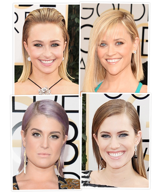 Sleek Hair - Golden Globes 2014