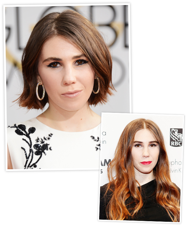 Zosia Mamet New Hair - Golden Globes 2014