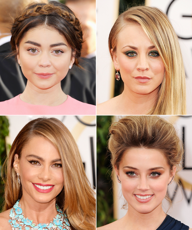 Golden Globes 2014 Hair