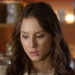 Exclusive Details via Possessionista: Troian Bellisario's Beige Cape From This Week's Pretty Little Liars