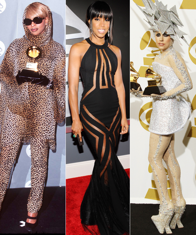 Riskiest Grammys Gowns