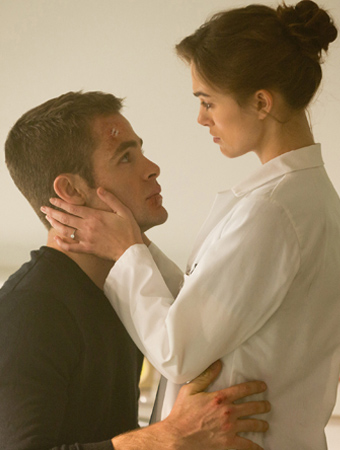 Chris Pine and Keira Knightley