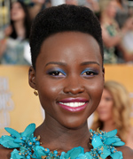 Lupita Nyong'O - SAG Awards 2014 - Makeup