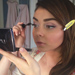 Exclusive! Get a Behind-the-Scenes Peek at How Sarah Hyland Got Ready For the SAG Awards