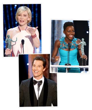 Lupita Nyong'o, Matthew McConaughey, Cate Blanchett
