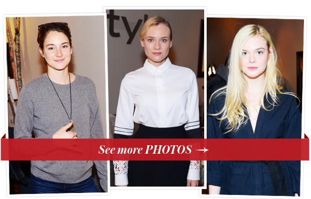 Shailene Woodley, Diane Kruger and Elle Fanning