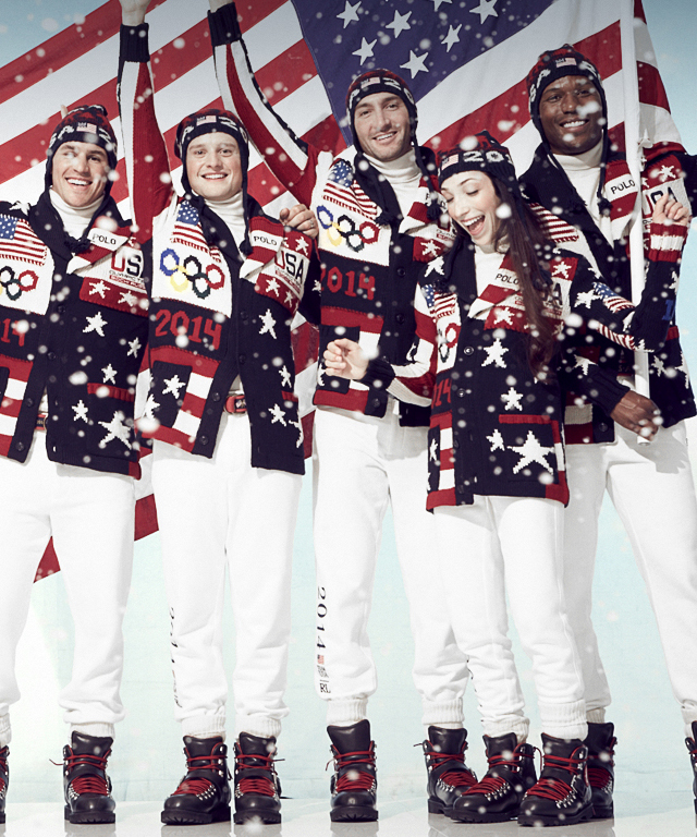 Ralph Lauren's Team USA Olympic Opening Ceremony Uniforms