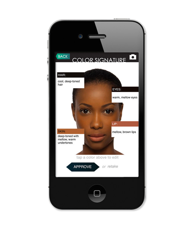Iman Cosmetics Mobile Beauty App