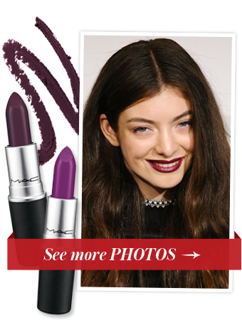 Lorde Lipstick - Grammys Beauty 2014