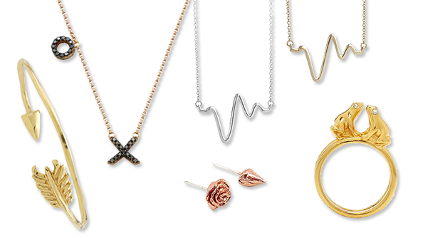 Non-Traditional Valentine's Day Jewelry