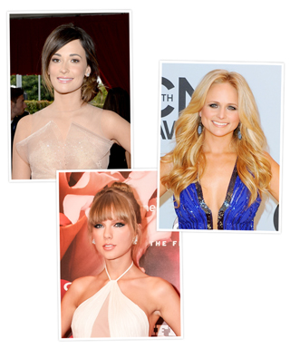 Kacey Musgraves, Miranda Lambert, and Taylor Swift