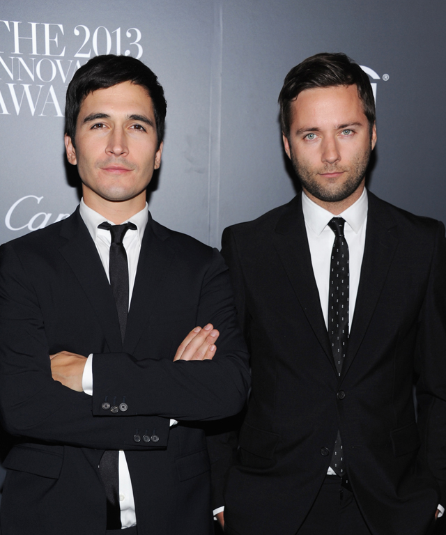 Jack McCollough and Lazaro Hernandez of Proenza Schouler