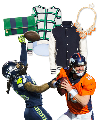 2014 Superbowl Sunday Outfits