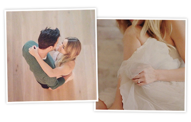 William Tell and Lauren Conrad Engagement Photos