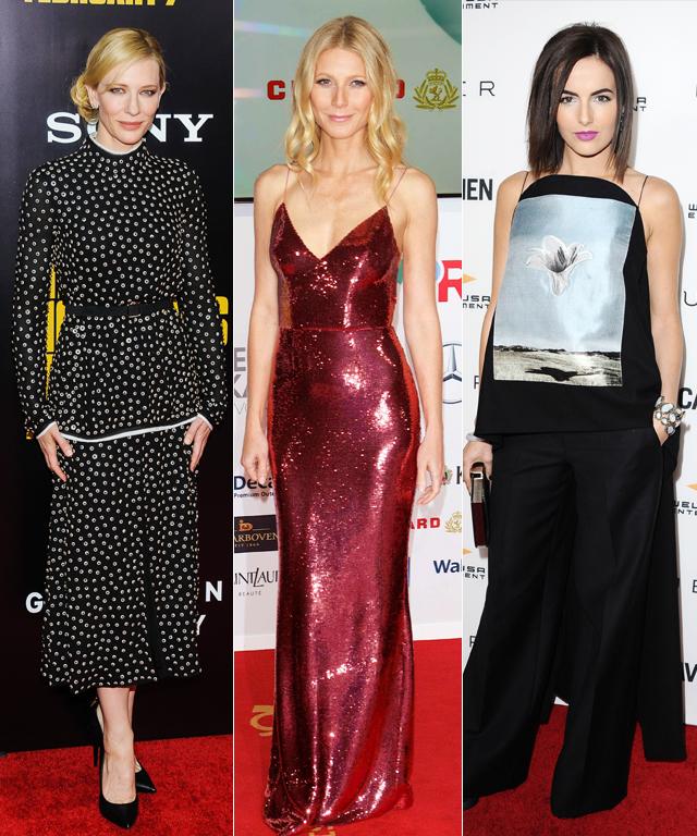 Gwyneth Paltrow, Abbie Cornish, Cate Blanchett, Camilla Belle, Diane Kruger