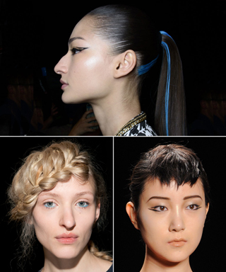 Fashion Week Runway Beauty - FW 2014