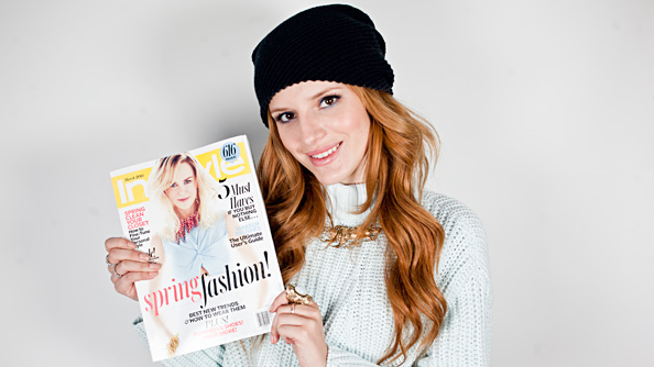 Bella Thorne, InStyle offices