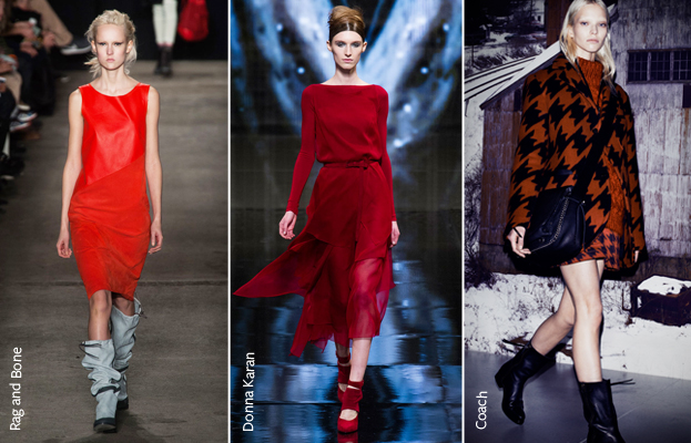 NYFW Fall 2014 Red Trend 2