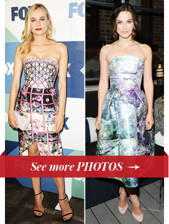Diane Kruger and Keira Knightley, Mary Katrantzou