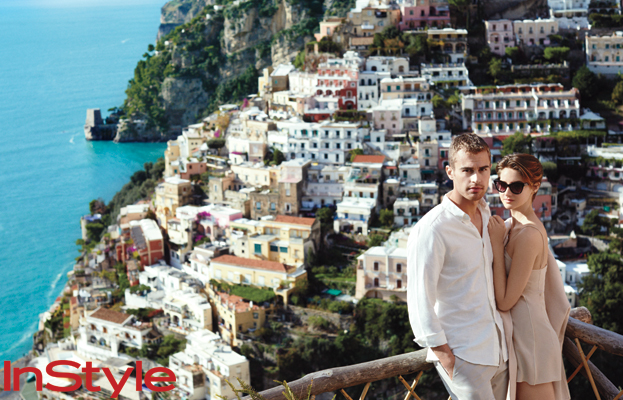Theo James and Shailene Woodley, InStyle