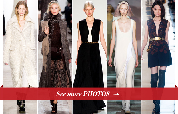 Calvin Klein Collection, Michael Kors, Victoria Beckham, Marc Jacobs and Tory Burch FW14