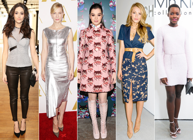 Emmy Rossum, Cate Blanchett, Hailee Steinfeld, Blake Lively, and Lupita Nyong'o