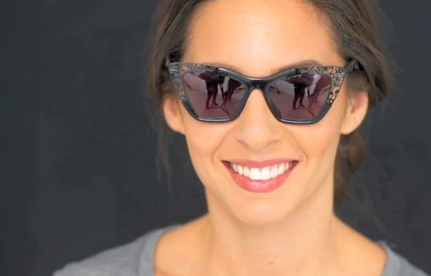 Real-Time Fashion: Cat-Eye Sunglasses