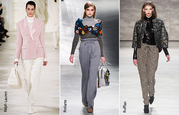 NYFW Fall 2014 Trend: Chic Sweats