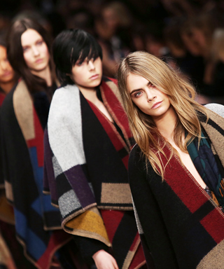 Burberry Blanket Fall 2014 LFW