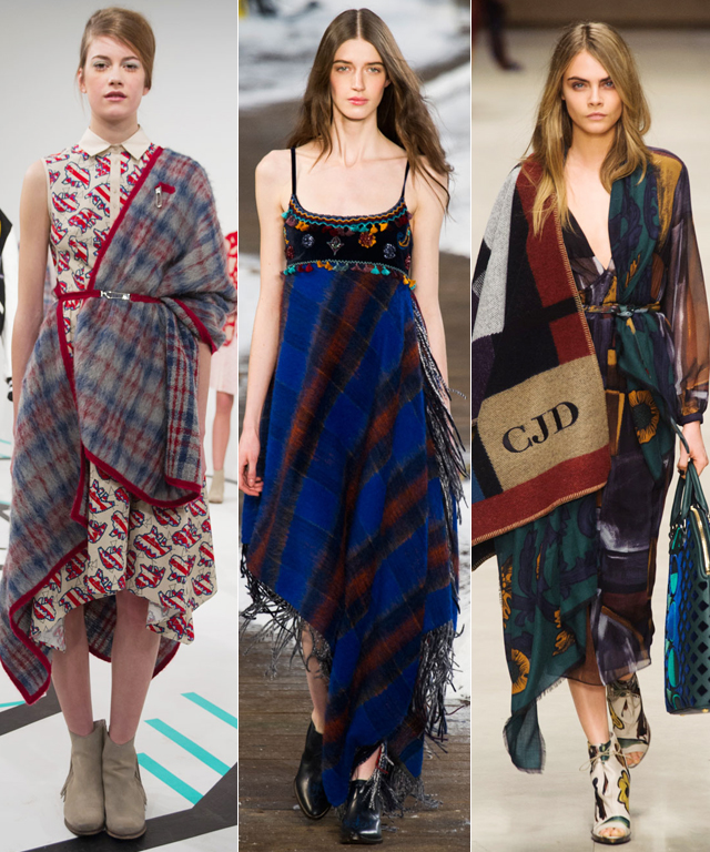 Fashion Week Trend: Blankets