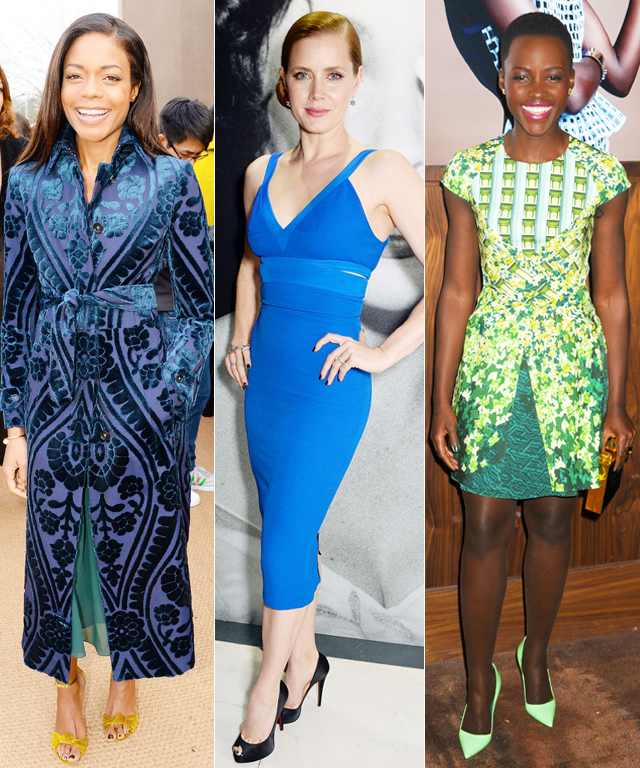 Amy Adams, Naomie Harris, Emma Watson, Lupita Nyong'o, and Rose Byrne