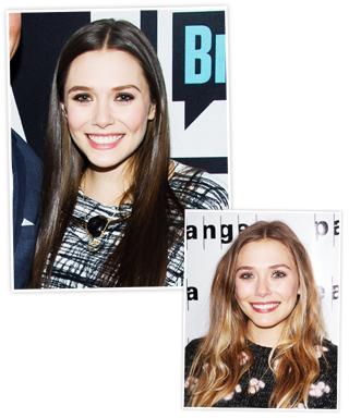 Elizabeth Olsen Brunette Hair