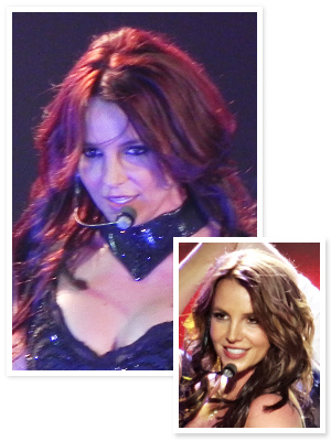 Britney Spears Red Hair